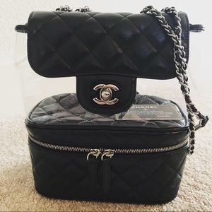 062da8adde49 Women Small Black Quilted Chanel Bag on Poshmark